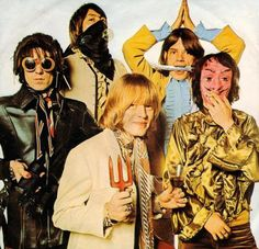 Charlie Watts, Mick Jagger, Keith Richards, Brian Jones and Bill Wyman