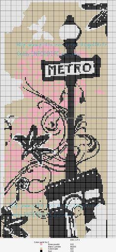 France / Métro de Paris  (grille gratuite)