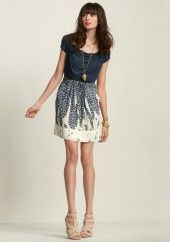 Fun new CAbi - love the skirt