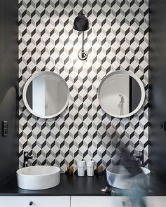 carreaux de ciment deco salle de bain