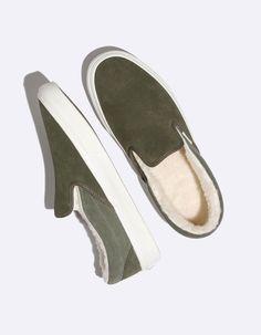 9c879c27f54 VANS Suede   Sherpa Classic Slip-On Shoes Vans Slip On