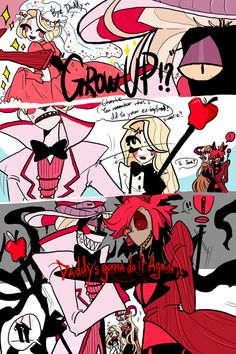 I should be sleeping, BUT NO. I just can't help myself imagine Lucifer being a over protective farther. Monster Hotel, Fighting The Flu, H Hotel, Hotel Arts, Hazbin Hotel Angel Dust, Alastor Hazbin Hotel, Hotel Trivago, Vivziepop Hazbin Hotel, Funny Comics