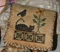 Free cross stitch design  reach it from http://cathavencrafts.blogspot.com/  She has lots of other links to freebies.