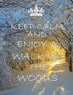 Keep Calm and enjoy .......