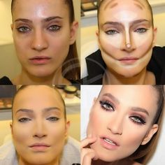How-to-Highlight-and-Contour-for-a-Perfect-Makeup.jpg (640×640)