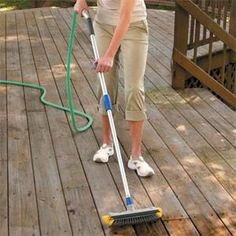 Natural Wood Deck Cleaning Products