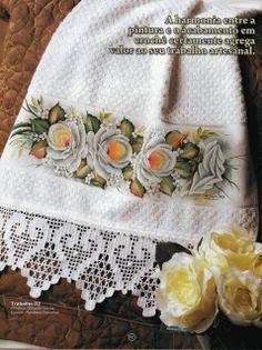 Filet Crochet, Crochet Lace Edging, Crochet Borders, Crochet Cross, Crochet Home, Thread Crochet, Lace Knitting, Crochet Stitches, Knit Crochet