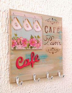 Porta Xícaras Café