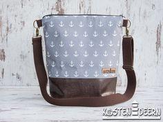 **Maritime Ankertasche von Küstendeern - Mit dieser Tasche fallt Ihr garantiert überall auf, auf See, an Land oder einfach nur beim Shoppen.  **Aufgrund der hohen Nachfrage nach dieser Tasche...