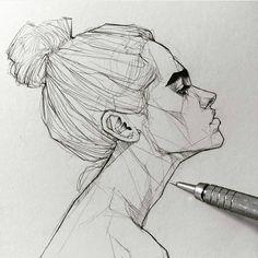 """4,824 Likes, 17 Comments - A R T (@modernartt) on Instagram: """"@modernartt . . Art by @maloart #art #drawing #draw #karakalem #çizim"""""""
