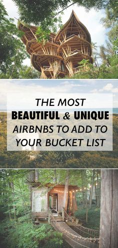 The Most Beautiful and Unique Airbnbs to Add to Your 2018 Bucket List