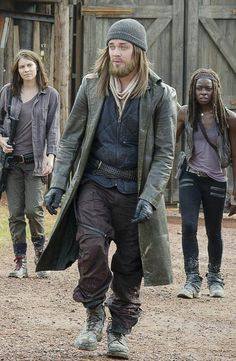 Twd,Maggie,Jesus and Michonne