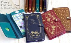 Smart Phone Case with video Hamee TV | Rakuten Global Market: It is disney character /Old Book Case [for exclusive use of 6 iPhone Plus]