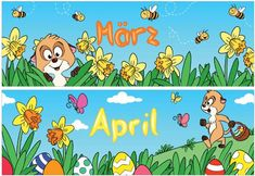 material-intern - Zaubereinmaleins - DesignBlog Kindergarten, Clip Art, Comics, Fictional Characters, Organization, First Grade Lessons, Seasons Months, Pictorial Maps, Kindergartens