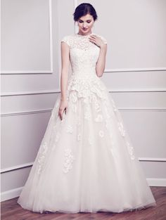 A top trend for wedding gowns is floral appliqués, as on this beautiful gown by designer Kenneth Winston. We at My Little Bridal Boutique are happy to show you the amazing gowns in our collection. Call us at 760.320.1777 to schedule your appointment.  www.mylittlebridalboutique.com & www.mylittleflowershop.com #mylittlebridalboutique #mylittleflowershop #weddinggowntrends #weddingplanning #palmspringswedding #bridalgowns
