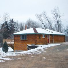 The Log Cabin Retreat - Stanchfield, MN:  Self-service private retreat accommodating up to 8 crafters and 12 overnight guests. 651-269-8423