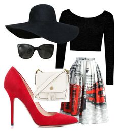 """""""Untitled #1"""" by emilymgreco on Polyvore featuring Boohoo, Chicwish, Tamara Mellon, Tory Burch and Chanel"""