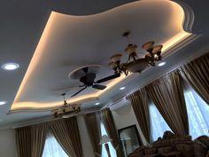 Mẫu 03: Trần thạch cao phòng khách tân cổ điển Decor, Lighting, Home, Simple Ceiling Design, Ceiling Lights, Lighting Design, Ceiling, Living Design, Living Room Designs