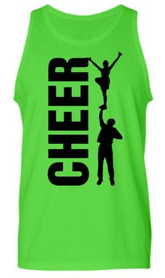 Cheer Stunt Tank by StartingLineupTees on Etsy, $20.00