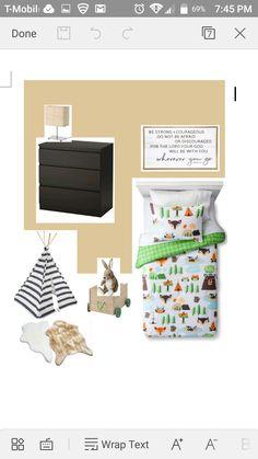 Simple Small Bedroom Design, Minimal Boyu0027s Bedroom Mood Board, Camp Themed  Kids Room, Part 39