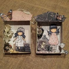 Mini Shadow Box Gift Tags created by Bona Rivera-Tran.