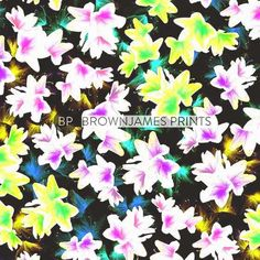 patternprints journal: BEAUTIFUL AND COLORFUL PATTERNS BY JAMES BROWN