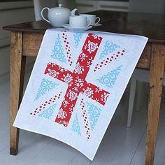 Susan or Brandy Carr would like this Union Jack Linen Tea Towel  £10