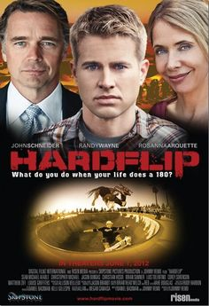 Hardflip follows the story of Caleb (Randy Wayne), a young skater whose ill mother (Rosanna Arquette) and absent father (John Schneider) leave him reaching for the only hope he has - becoming a sponsored skater.
