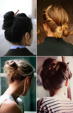 Beauty Inspiration: Hair Buns by caitlin