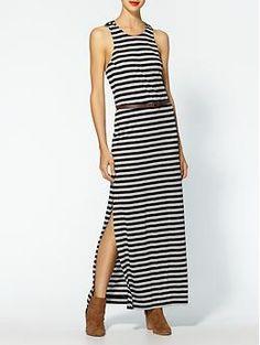 BCBGeneration Stripe Maxi Dress | Piperlime