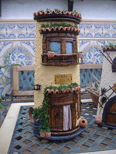 Biscuit, Miniature Houses, Magical Creatures, Sculpture Art, Home And Garden, Miniatures, Clay, Prado, Home Decor
