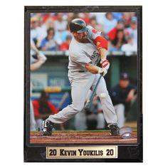 Encore Select Boston Sox Kevin Youkilis Photo Plaque