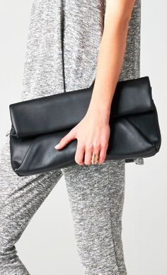 #black #leather #lunch #bag #clutch WWW.SHOPPUBLIK.COM #publik #shoppublik #womens #fashion #clothes #style #accessories #jewelry #rings #bracelets #earrings #statement #necklaces #gold #silver #chic #cute #hot #trendy #sexy #swag #fashionista #fashionfeen #fallfashion #holidays #fashionforward #fashiontrends #outfitinspiration #streetstyle #celebstyle #ootd #whatsnew #newarrivals #armpartyswag #womenswear