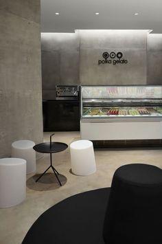 "ice cream parlor | ""polka gelato"" | london | by studio vonsung."