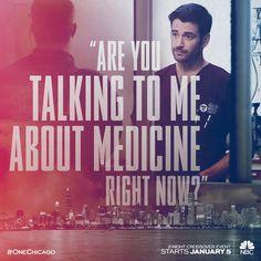 Tell 'em, Dr. Rhodes! #OneChicago