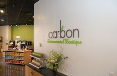 """Carbon Environmental Boutique is a retail store located her in Edmonton at 10184-104 Street. """"Carbon's mission is threefold - to showcase and support environmental manufacture, to encourage and fortify ethical business practices and to advocate and promote non-toxic living."""""""
