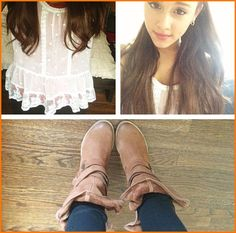 Ariana Grande Shows Off Her Style November 28, 2012