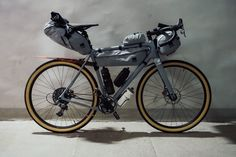 The Open U.P. Touring Bicycles, Touring Bike, Bike Mtb, Cycling Bikes, Bikepacking Bags, Bicycle Painting, Push Bikes, Fixed Bike, Road Bikes