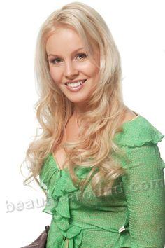 Beautiful Finnish women. Hanna Ek Miss Finland 2005 photo
