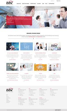 bbv Software Services ist ein Schweizer Software- und Beratungsunternehmen, ein interessanter Arbeitgeber, Eventveranstalter und Schulungsanbieter.  #webagentur #webdesign #bern