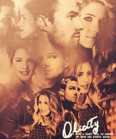 Arrow - Emily Bett Rickards - Felicity Smoak - Oliver Queen  Stephen Amell…