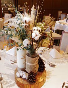 #novarese#vressetrose #wedding#vintage#tablecoordinate#guesttable#natural #flower #bridal#amandansail#アマンダンセイル#ノバレーゼ# ブレスエットロゼ #ウエディング#ビンテージ#シンプル #ゲストテーブル #テーブルコーディネート #ナチュラル#ブライダル#結婚式 Floral Wedding, Fall Wedding, Rustic Wedding, Wedding Flowers, Wedding Centerpieces, Wedding Decorations, Table Decorations, Table Arrangements, Flower Arrangements