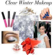 Clear Winter Makeup
