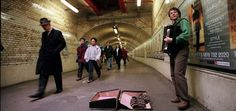 Young people should busk if they can't afford train fare, says Tory MP  Exclusive: Britain's million young jobless should busk to raise cash and work for less than the minimum wage, Conservative MP Damian Collins has said to widespread anger.
