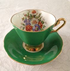 Windsor China Tea cup and Teacup Set on Etsy, $34.50 CAD