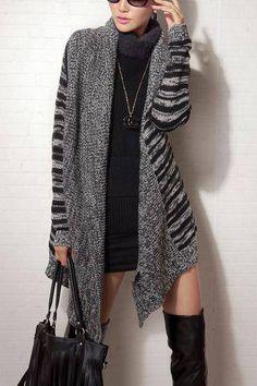 Loose Knitted Cardigan - US$35.95 -YOINS