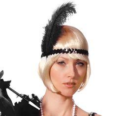 Flapper Headband, Gatsby Headpiece, flapper headband, great gatsby, gatsby headband, flapper 1920s headpiece, flapper headpiece, 1920s dress by CustomHolidays on Etsy