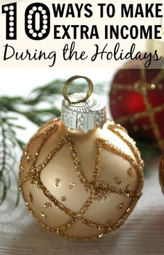 10 Ways To Make Extra Income During the Holidays. There are so many ways to make extra income for the holidays. Check this out so that you don't go broke for the holidays!