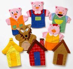 Three Little Pigs Hand Puppet Set (8 puppets) Deb Darling Designs http://www.amazon.co.uk/dp/B001C47A6K/ref=cm_sw_r_pi_dp_mjNOvb0815EVW
