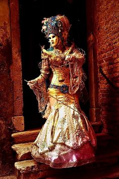 Venice Carnivale, Samurai, Venetian, Samurai Warrior